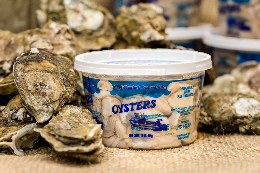 Oysters – Capt. Charlie's