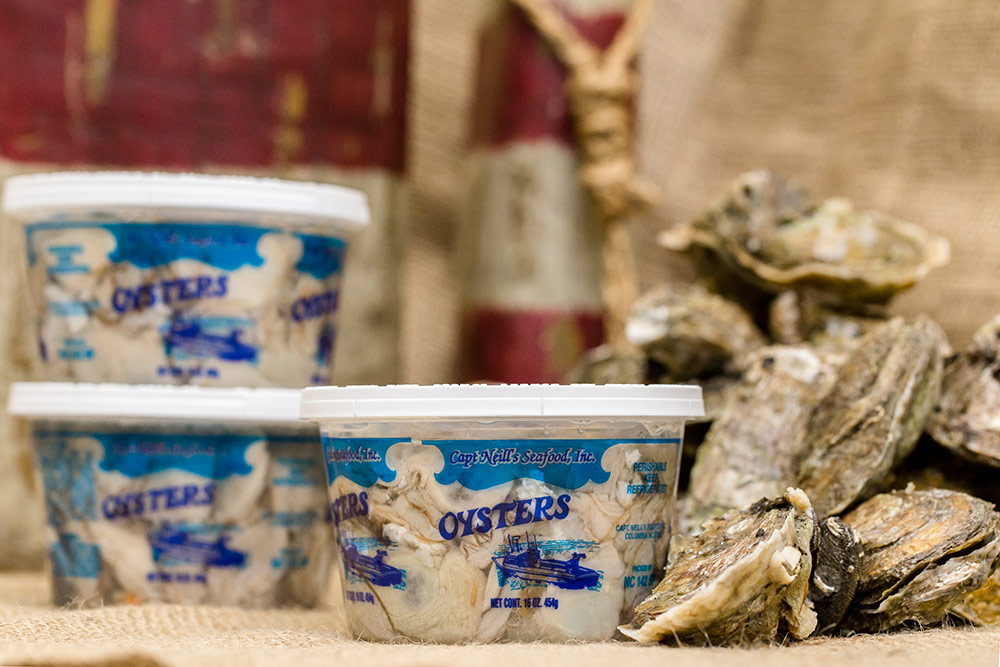 Oysters – Capt. Neill's