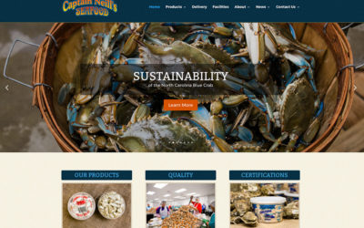 Captain Neill's Launches New Website